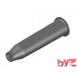 35x320x90 - BURNER BLOCK SISIC L 320 Hole : 35 BLOCCO BRUC.. Silisyum Karbür Brülör Kovanı