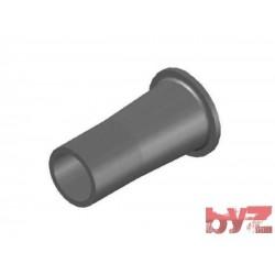 45x136x80 - BURNER BLOCK SISIC L 136 Hole : 45 BLOCCO BRUC.. Silisyum Karbür Brülör Kovanı