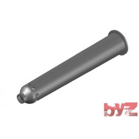 BURNER BLOCK SISIC L500 Hole : 28 D.16 Ray Type BLOCCO BRUC.. Silisyum Karbür Brülör Kovanı