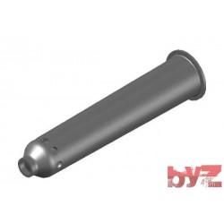 RK-200-16-0188-410 - BURNER BLOCK SISIC L 410 Hole : 28 D 16 Ray Type BLOCCO BRUC.. Silisyum Karbür Brülör Kovanı