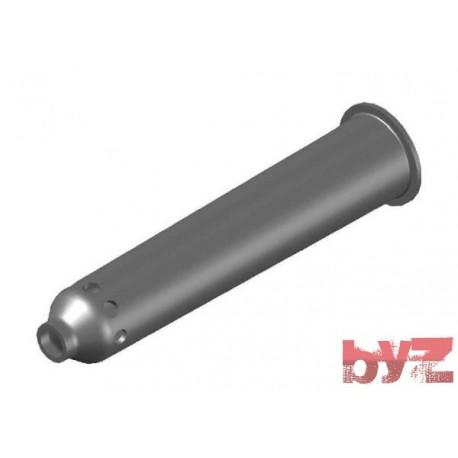 BURNER BLOCK SISIC L 410 Hole : 28 D 16 Ray Type BLOCCO BRUC.. Silisyum Karbür Brülör Kovanı