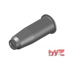 33x200x82 - BURNER BLOCK SISIC L 200 Hole : 33 BLOCCO BRUC.. Silisyum Karbür Brülör Kovanı