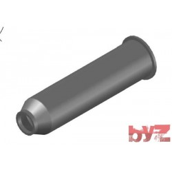 RK-200-17-0101 - BURNER BLOCK SISIC L 375 Hole : D 50 BLOCCO BRUC.. Silisyum Karbür Brülör Kovanı