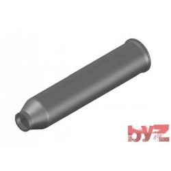 89-40-395 - BURNER BLOCK SISIC L 395 Hole : 40 BLOCCO BRUC.. Silisyum Karbür Brülör Kovanı
