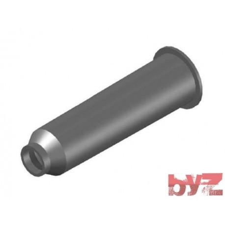 BURNER BLOCK SISIC L 300 Hole : D 40 BLOCCO BRUC.. Silisyum Karbür Brülör Kovanı