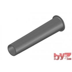 RK-200-16-0163 - BURNER BLOCK SISIC L 375 Hole : D 60 BLOCCO BRUC.. Silisyum Karbür Brülör Kovanı