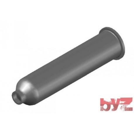 BURNER BLOCK SISIC L 375 Hole : D 30 BLOCCO BRUC.. Silisyum Karbür Brülör Kovanı