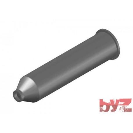 BURNER BLOCK SISIC L 375 Hole : D 25 BLOCCO BRUC.. Silisyum Karbür Brülör Kovanı