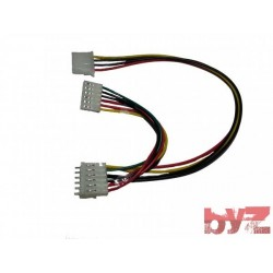 RT65B-34-34-6PIN-CABLE - Meanwell Güc Kaynagı Kablosu Cable Group IDE power supply splitter 34 +34 6 PIN