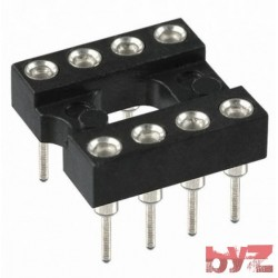 8PIN-SOCKET-P - Entegre Soketi Precision 8 Pin PRECISION IC SOCKET 8-PIN