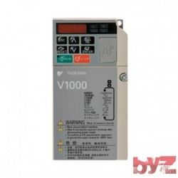 VB4A0002BBA - Yaskawa Inverter V1000 0,37 TO 0,75KW 3 Faz 400V