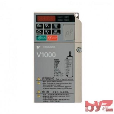 INVERTER V1000 YASKAWA 0,37 TO 0,75KW TRIFAZE 400V