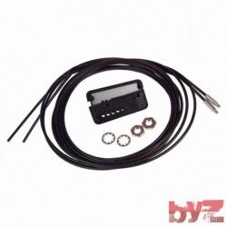 E32-TC200-2MT - Omron Fiber Optic Sensors M4 THRU-BEAM CABLE E32TC2002MT E32TC2002