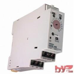 Electromechanical Relay DPDT 5A 24V to 230VDC 24V to 230VAC DIN Rail