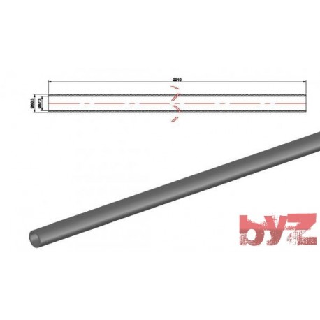 COOLING PIPE SOFF. R.R. 60,3*1,5*2210 AISI 310S WITHOUT HOLE Paslanmaz Soğutma Borusu