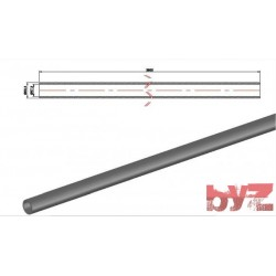 60,3x57,3x3800 - COOLING PIPE SOFF. R.R. 60,3*1,5*3800 AISI 310S WITHOUT HOLE Paslanmaz Soğutma Borusu