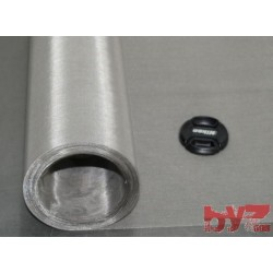 Paslanmaz Elek Teli 180 Mesh 90 Mikron Tel Kalınlığı : 0,05 mm Açıklık : 0,09 mm En: 130 cm AISI304 Krom Nikel