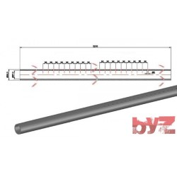 60,3X57,3X3210H - COOLING PIPE SOFF. R.R. 60,3*1,5*3210 AISI 310S WITH HOLE Paslanmaz Soğutma Borusu