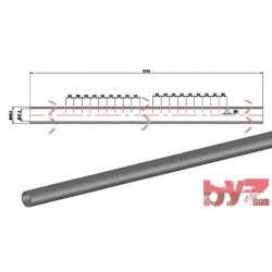 RK-240-D7-0003 - COOLING PIPE SOFF. R.R. 60,3*6,5*3310 SISIC Silisyum Karbür Soğutma Borusu