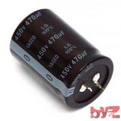 470UF450V - Elektrolitik Kondansator 470UF 450V 470 Mikrofarad 470 MF