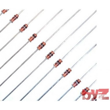 TCBZX55C-27 - BZX55C27 Diode Zener Single 27V 500mW 0,5W DO 35 2 TCBZX55C BZX55C-27