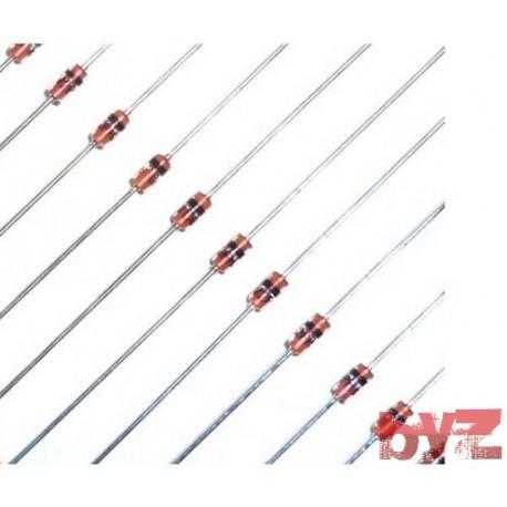 TCBZX55C-3V6 - BZX55C3V6 Diode Zener Single 3,6V 500mW 0,5W DO 35 2 TCBZX55C BZX55C-3V6