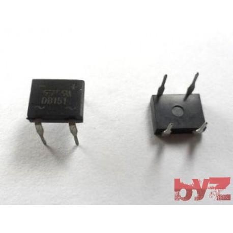 DB151 - Diode Rectifier Bridge Sing. 50V 1,5A DIP 4 Diyot