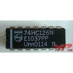 74HC126N - Quad buffer/line driver 3-state Dip 14 74HC126 74LS126 M74HC126 M74HC126B1R