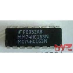 74HC163N - Presettable synchronous 4-bit binary counter DIP 16 74HC163 74LS163 M74HC163 M74HC163B1R