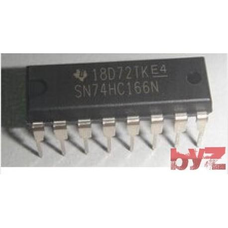 74HC166N - 8-bit parallel-in/serial-out shift register DIP 16 74HC166 74LS166N M74HC166 M74HC166B1R