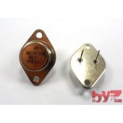 7805CK - VOLTAGE REG, 5V, 1.5A, TO 3 7805 UA7805 LM7805