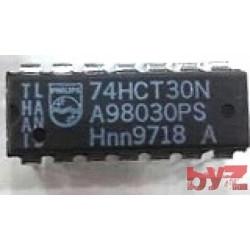 74HCT30N - Logic Gates 8-INPUT NAND GATE Dip 14 74HCT30 74LST30 M74HCT30 M74HCT30B1R