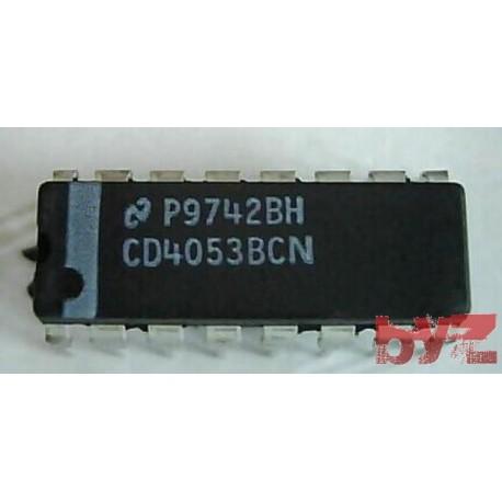 CD4053BCN - Multiplexer Analog DIP 16 4053 CD4053 HCF4053 HEF4053