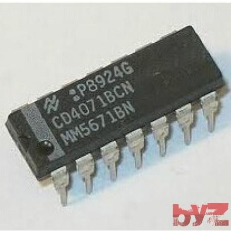 CD4071BCN - Gate OR DIP 14 4071 CD4071 HCF4071 HEF4071