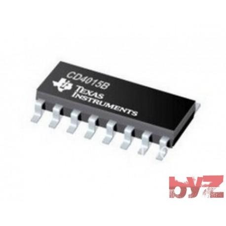 CD4015BCM - Shift Register Dual 4-Bit SOIC 16 4015 CD4015 HCFC015 HEF4015 SMD