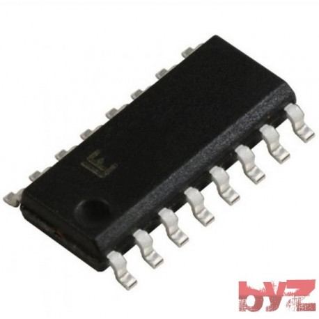 HCF4050BM1 - CD4050BM Buffer Hex Inverting SOIC 16 HCF4050 HCF4050BM HCF4050B HCF4050 CD4050 HEF4050 SMD