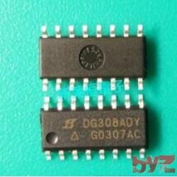DG308ADY - Analog Switch Quad SPST SOIC 16 DG308 SMD