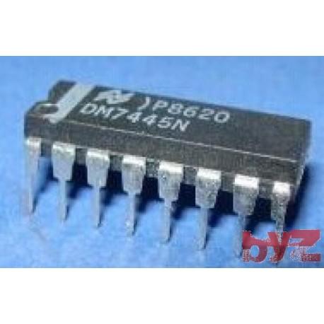 DM7445N - Decoder/Driver Single 4-to-10 DIP 16 DM7445