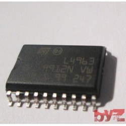 L4963D - Conv DC-DC 9V to 46V Step Down Single-Out 5.1V to 36V 1.5A SOIC 20 L4963 L4963D013TR SMD