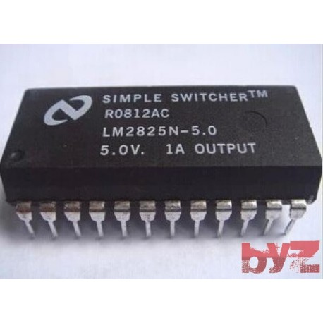 LM2825N-5.0 - CONTROLER SWITCHING 1A 7V DIP 24 LM2825N-5 LM2825N LM2825