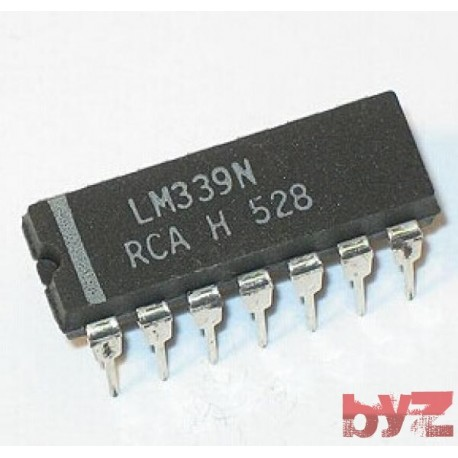 LM339N - Comparator Quad DIP 14 LM339