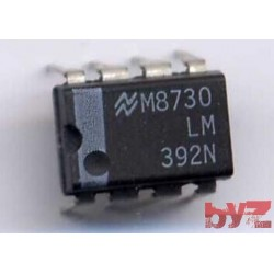 LM392N - OP Amp and Comparator DIP 8 LM392