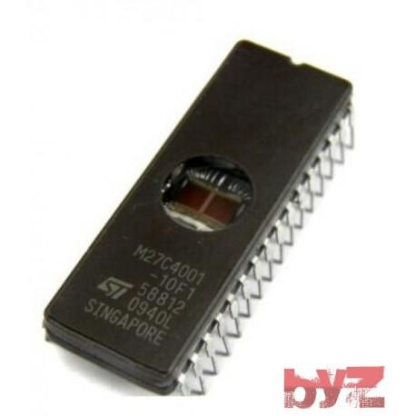 M27C4001-10F1 - IC, EPROM, 4MBIT, 100NS, DIP 32 M27C4001-10 M27C4001 27C4001