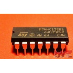 M74HC132B1R - NAND Gate 4-Element 2-IN CMOS DIP 14 M74HC132 74HC132 CD74HC132 SN74HC132 74LS132
