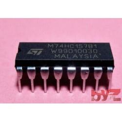 M74HC157B1R - Multiplexer DIP 16 M74HC157 74HC157 CD74HC157 SN74HC157 74LS157