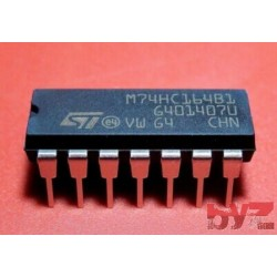 M74HC164B1R - Shift Register DIP 14 M74HC164 74HC164 CD74HC164 SN74HC164 74LS164