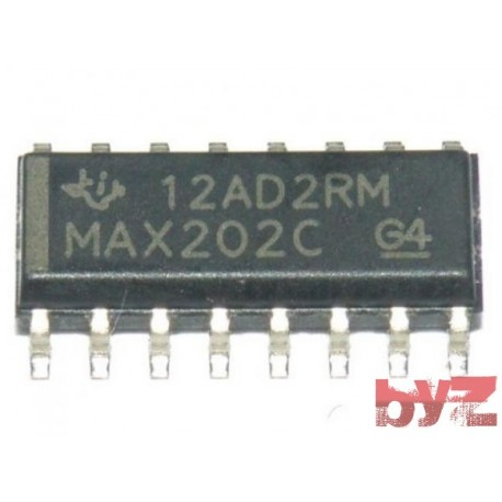 MAX202CD - Transmitter/Receiver SOIC 16 MAX202 MAX202C SMD