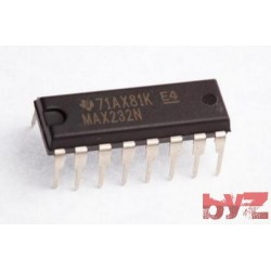 MAX232N - Dual Transmitter/Receiver RS-232 DIP 16 MAX232 MAX232CP