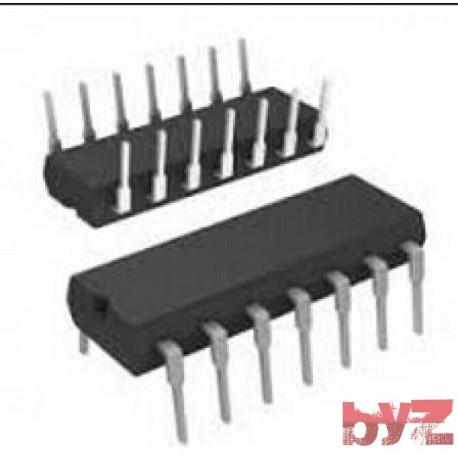 M74HC4075B1R - OR Gate 3-Element 3-IN CMOS DIP 14 M74HC4075 74HC4075 CD74HC4075 SN74HC4075 74LS4075