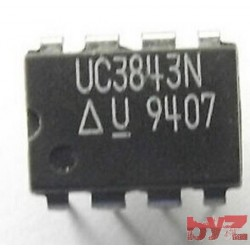 UC3843N - Current Mode PWM Controller 1A DIP 8 UC3843 UC 3843 N